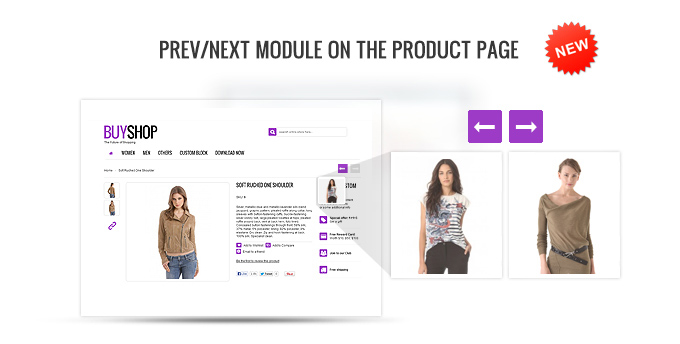 Prev/next modules presence on the product page