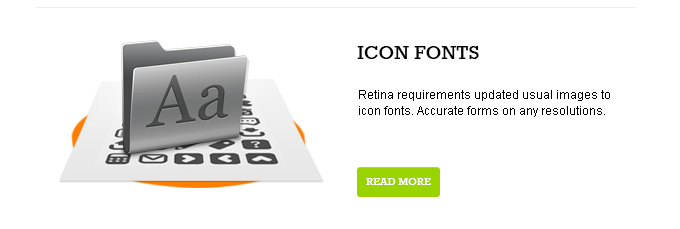 Icon fonts image