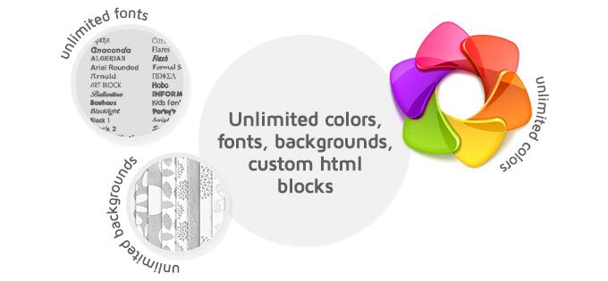 Unlimited colors picture