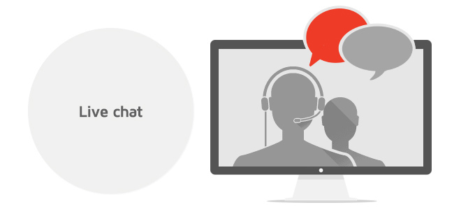 Megatron supports Live chat option