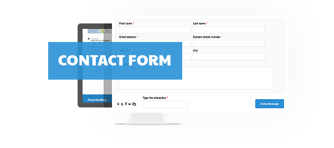 Contact form image