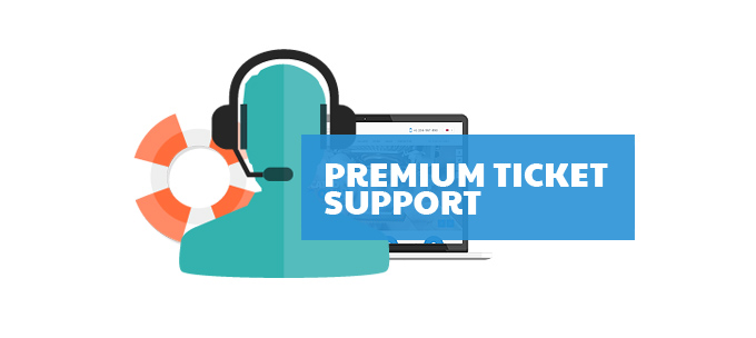Fixit Computer web theme has Premium Ticket Support