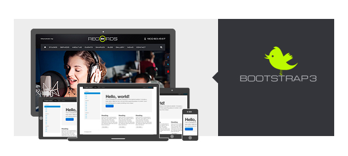 Bootstrap3 theme
